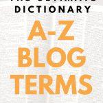 A-Z Blog Terms
