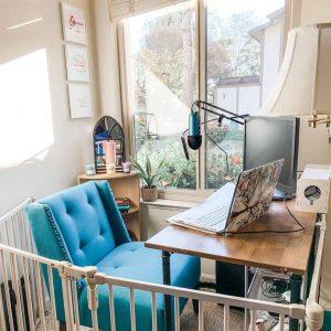 Image of Kristine Beaves's work area