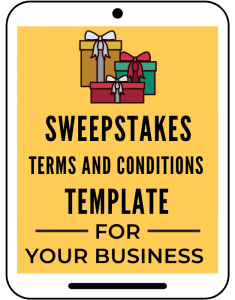 Sweepstakes Terms And Conditions for Your Business