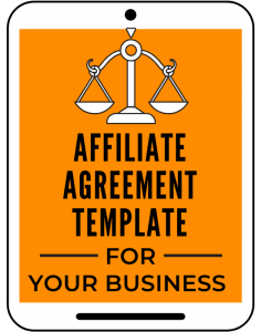 Affiliate Agreement Template for Your Business