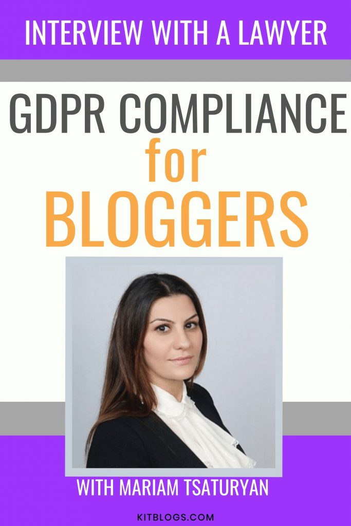Interview with a lawyer Mariam Tsaturyan on GDPR