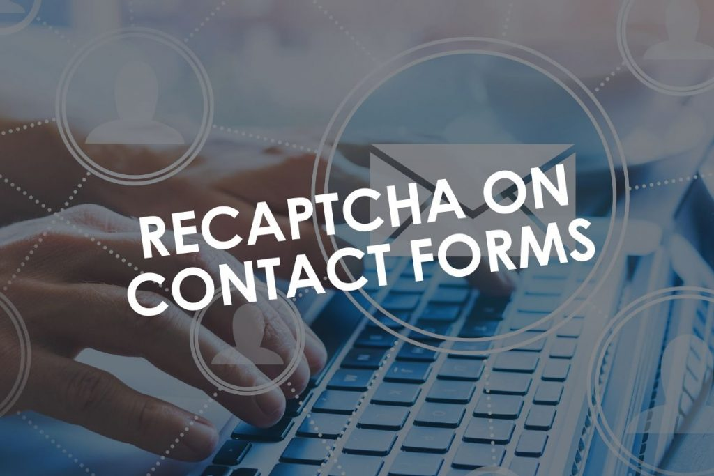 reCAPTCHA on Contact Forms in WordPress
