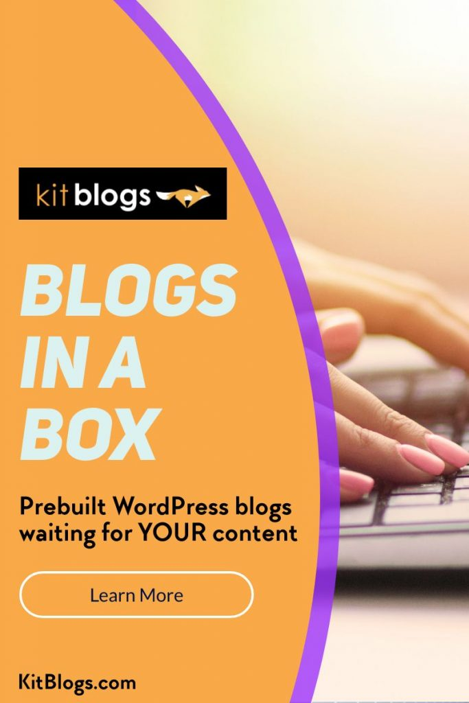 KitBlogs Blogs In A Box
