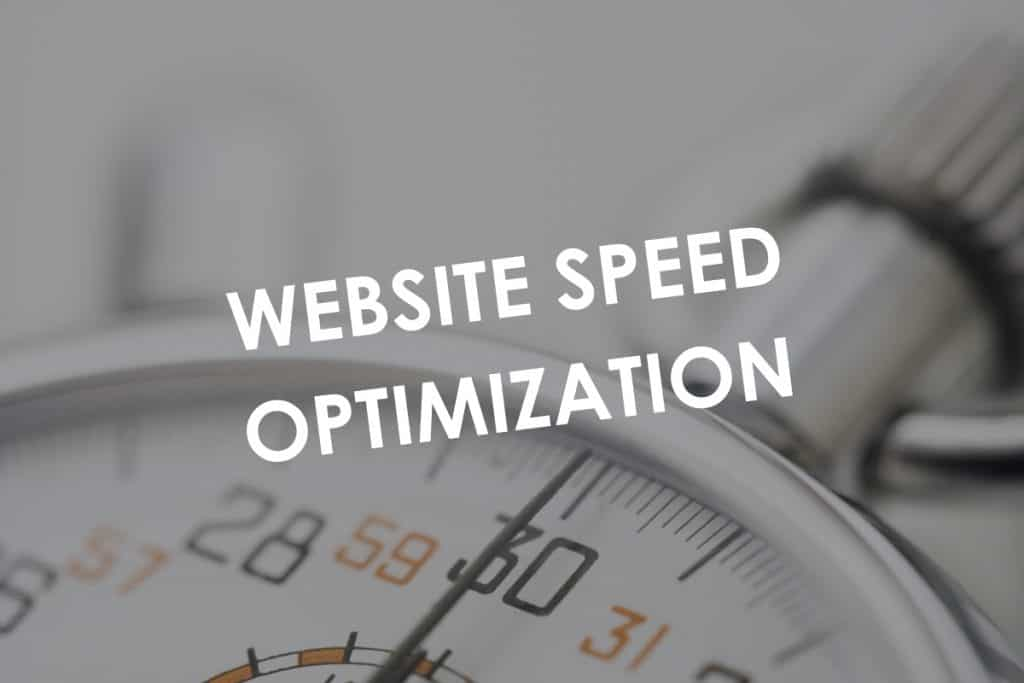 Website speed optimization over stopwatch
