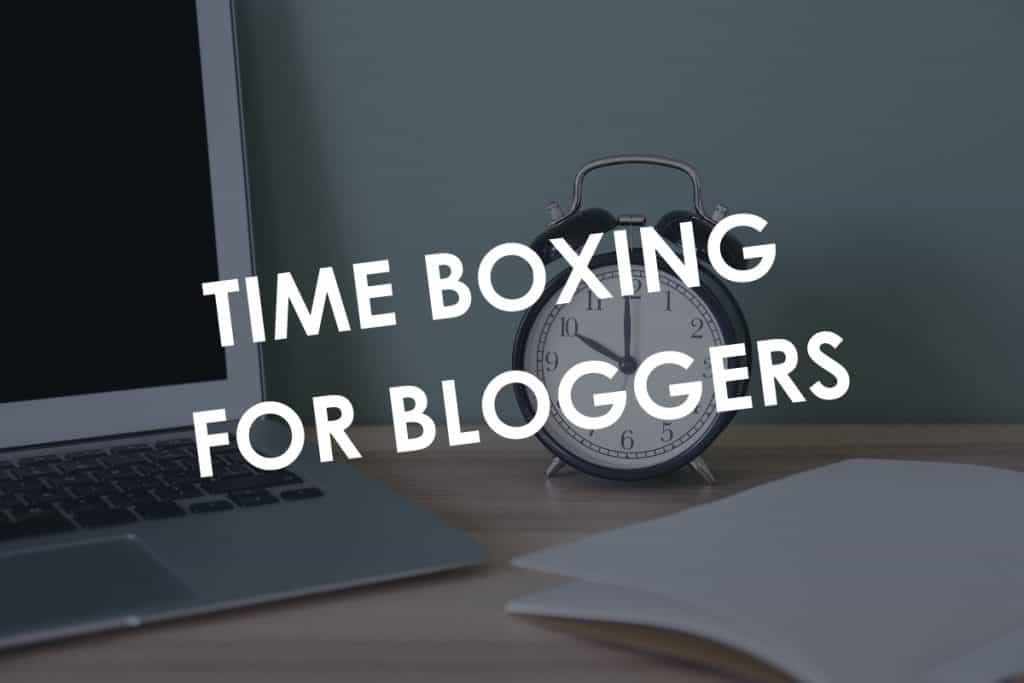 Time Boxing for Bloggers by KitBlogs.com
