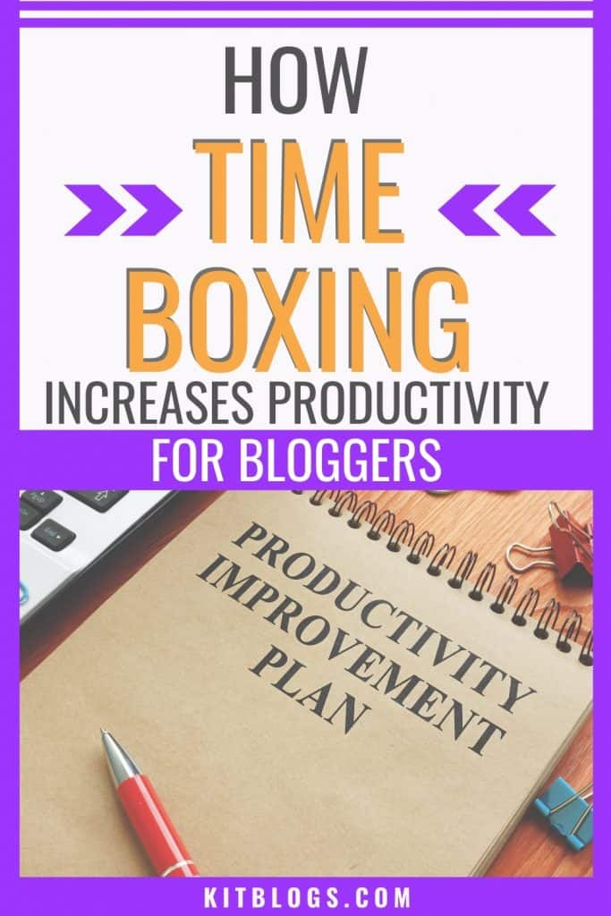 How time boxing increases productivity for bloggers