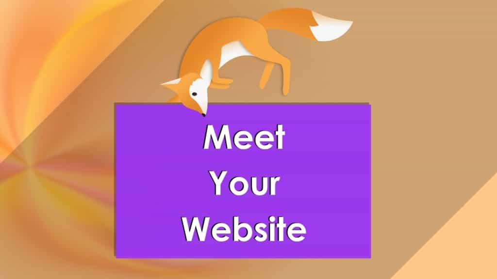 Meet Your Website (with jumping fox)